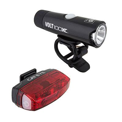 CatEye LIGHT HL-EL051RC TL-LD620R VOLT100XC/RAPID-MICRO COMBO BK