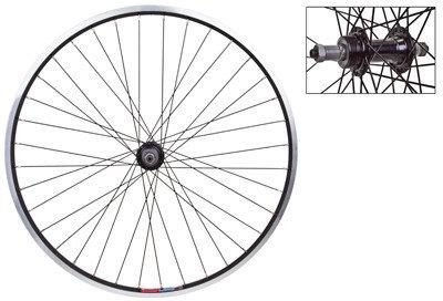 J&B Importers Rear Wheel 26x1.5 5/7spd Black 26