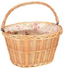 Kent International CAPSTONE LARGE WICKER BASKET WITH LINER