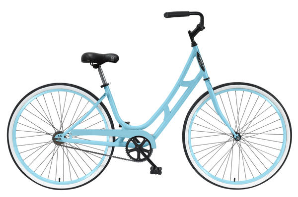 3G Bikes G'Bonita 1Sp Color: Baby Blue/Baby Blue