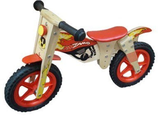 Kidzamo Wood Moto Balance Bike