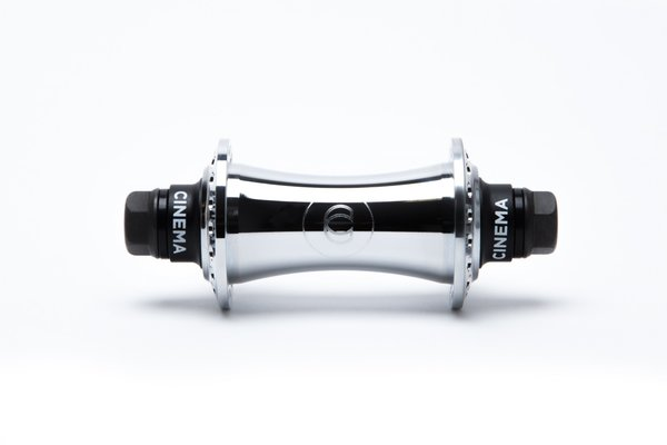 Cinema BMX VX2 FRONT HUB Color: CHROME