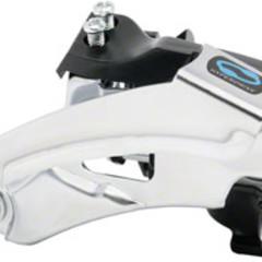 QBP Brand Shimano Altus M310 7/8-Speed Triple Top-Swing Dual-Pull Front Derailleur