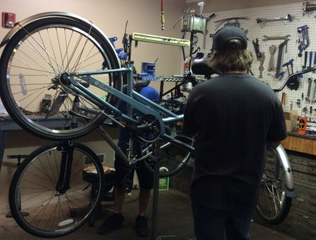 Our Bicycle Service Center