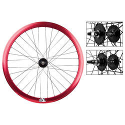 Wheel Master WHL PR 700 622x15 OR8 42mm RD-ANO NMSW 32 OR8 FX/FX LOOSE BK 120mm DTI2.0BK