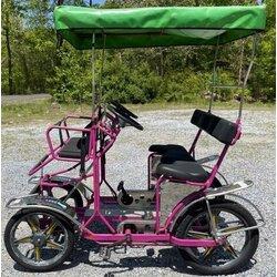 NewTecnoArt Used NewTecnoArt Selene Sport Surrey Bike (Purple)