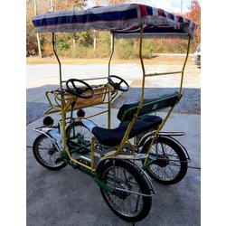 Tecnoart Used Single Bench Surrey Bike 2A