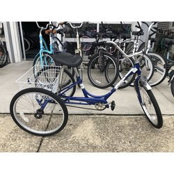 Used Bike Used Adult Trike Blue