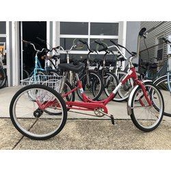 Used Bike Used Adult Trike Red