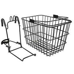 Kent International CAPSTONE LARGE WIRE BASKET WITH QUICK RELEASE