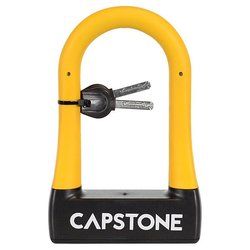 Kent International CAPSTONE SMALL RUBBERIZED U-LOCK W/ KEY