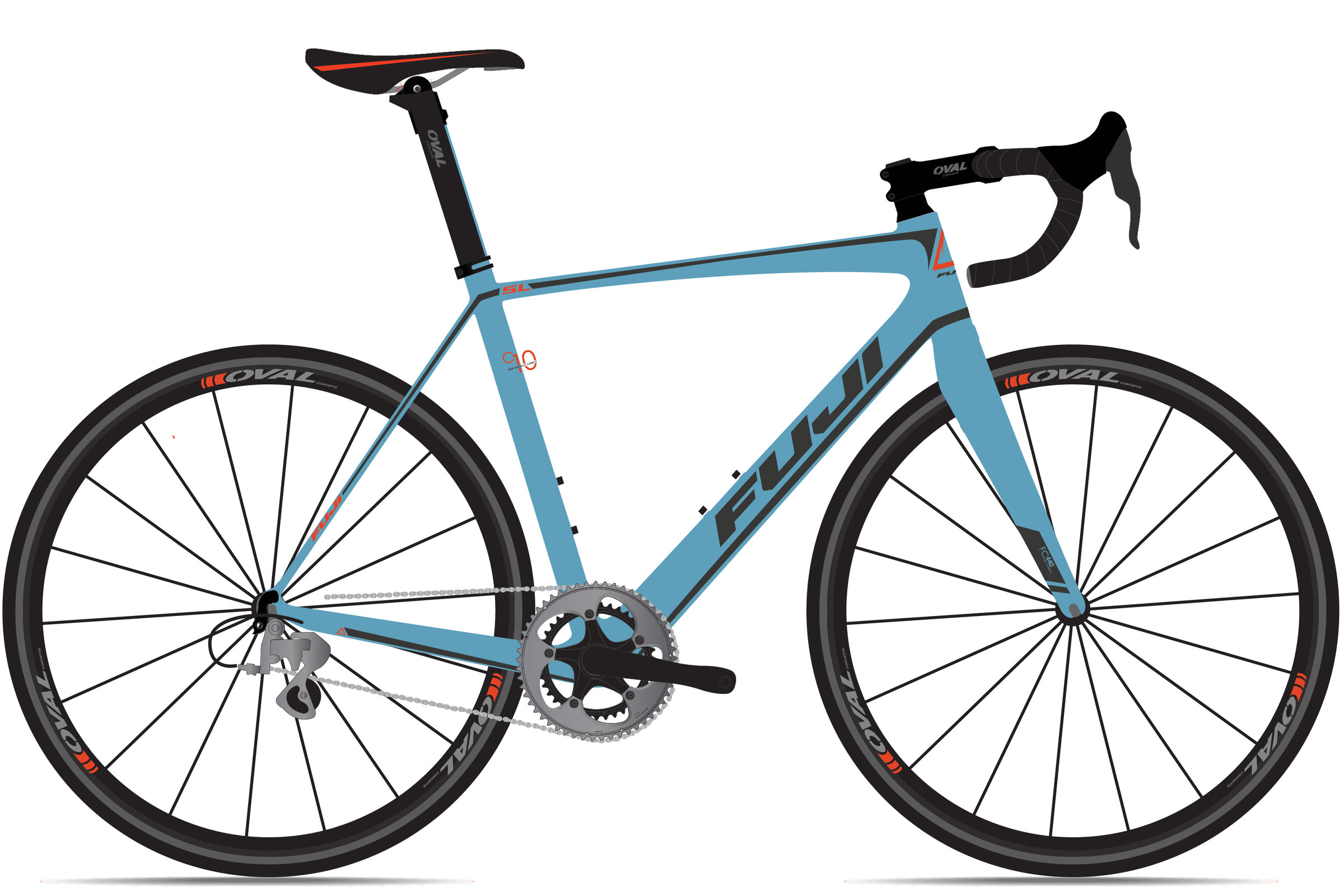 b088ebf2436 Fuji SL 2.1 DISC - Tuckahoe Bike Shop Woodbine Ocean City Sea Isle ...