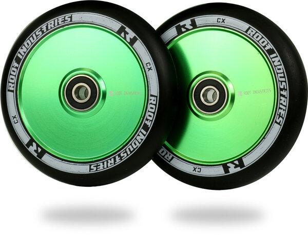 Root Industries AIR Wheels 110mm - Black / Green