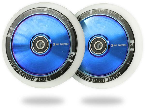 Root Industries AIR Wheels 110mm - White / Blu-Ray