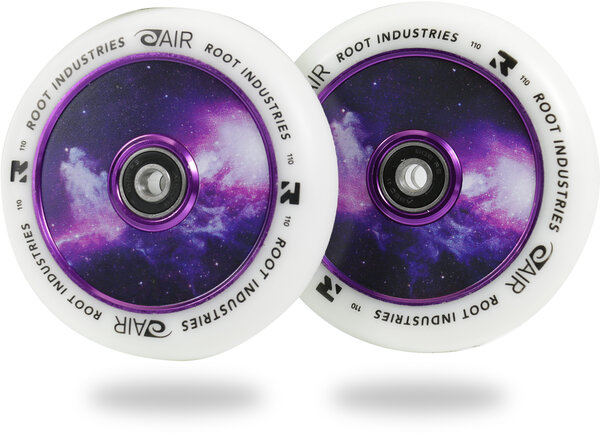 Root Industries AIR Wheels 110mm - White / Galaxy
