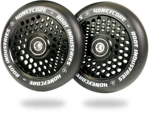 Root Industries Honeycore Wheels 110mm - Black / Black