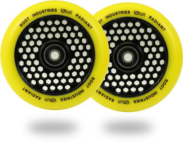 Root Industries Honeycore Radiant Wheels 110mm - Yellow / Black