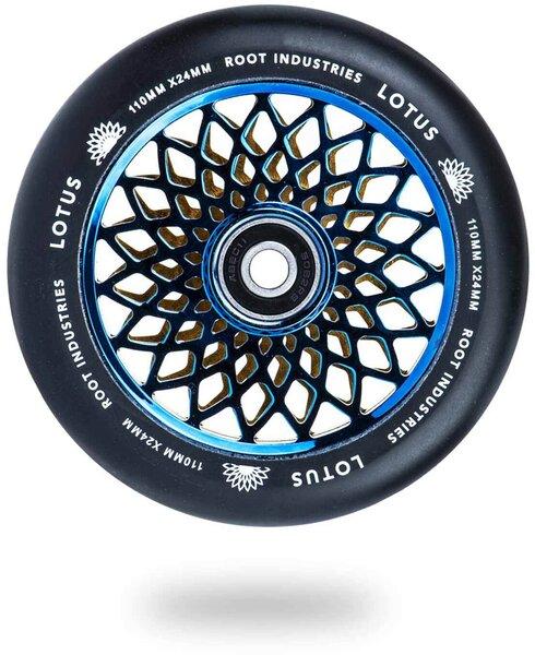 Root Industries Lotus Wheels 110mm x 24mm - Blu-Ray / Black