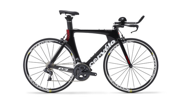 Cervelo P3 Ultegra Di2 8060 Color: Black / Red
