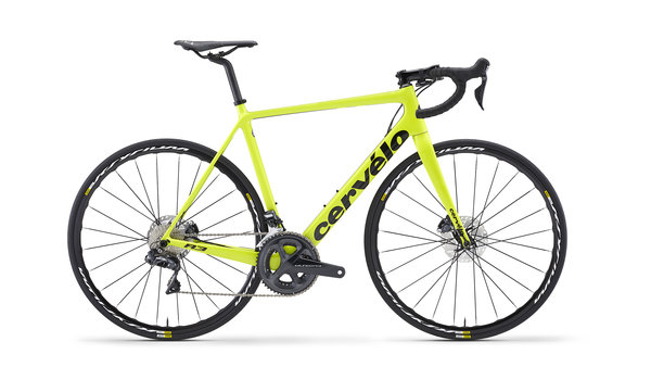 Cervelo R3 Disc Ultegra Di2 8070 Color: Flouro / Black
