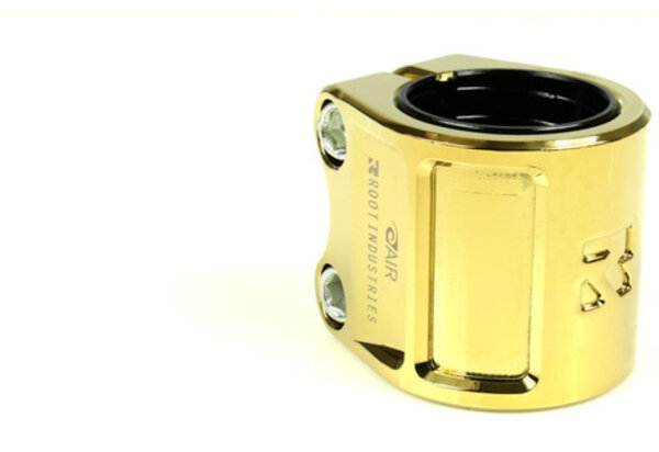 Root Industries AIR Double Clamp - Gold Rush