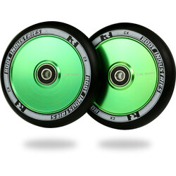 Root Industries AIR Wheels 110mm - Black / Green