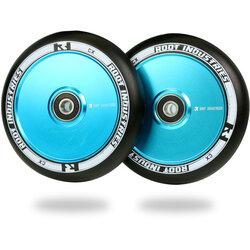 Root Industries AIR Wheels 110mm - Black / Sky Blue