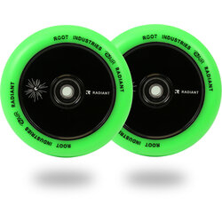 Root Industries AIR Radiant Wheels 110mm - Green / Black