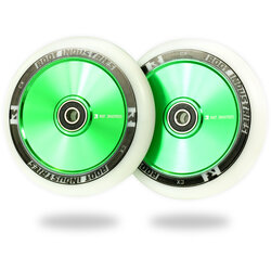 Root Industries AIR Wheels 110mm - White / Green