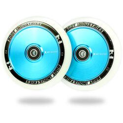 Root Industries AIR Wheels 110mm - White / Sky Blue