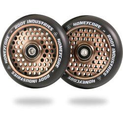 Root Industries Honeycore Wheels 110mm - Black / Coppertone
