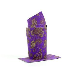 BarWraps Paisley - Purple / Gold