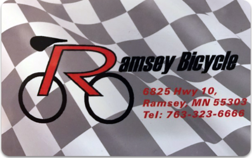 Ramsey Bicycles Gift Card