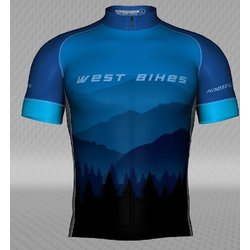 West Bikes West Bikes Shop Jersey - Club Fit