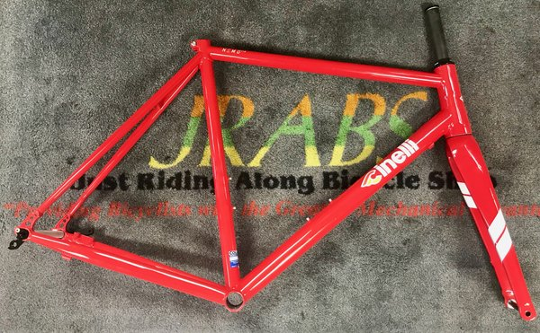 Cinelli Nemo TIG Disc Frameset Racing Red Large