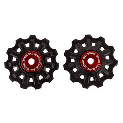 Campagnolo 11-Speed Derailleur Pulleys with Ceramic Bearing Lower Pulley, Set of 2