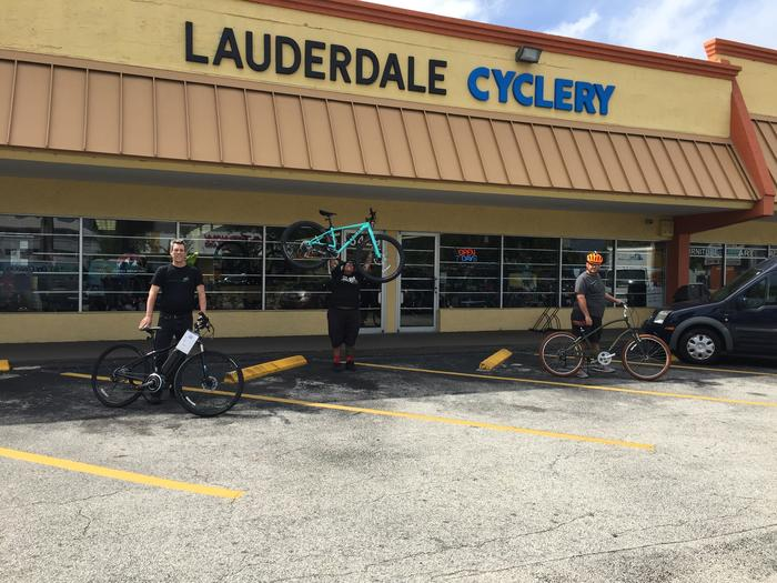 Lauderdale Cyclery Storefront