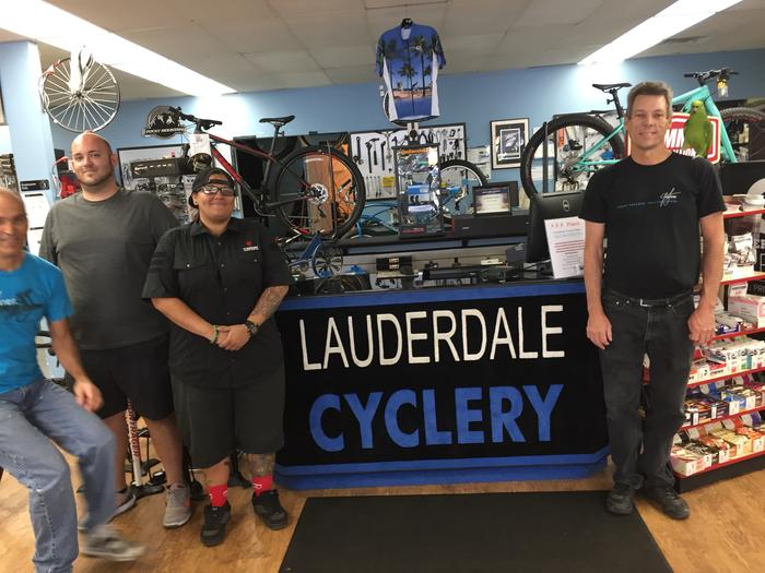 The Lauderdale Cyclery Awesome Staff