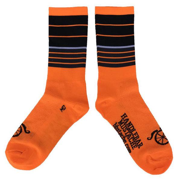 Handlebar Mustache Cycling Socks