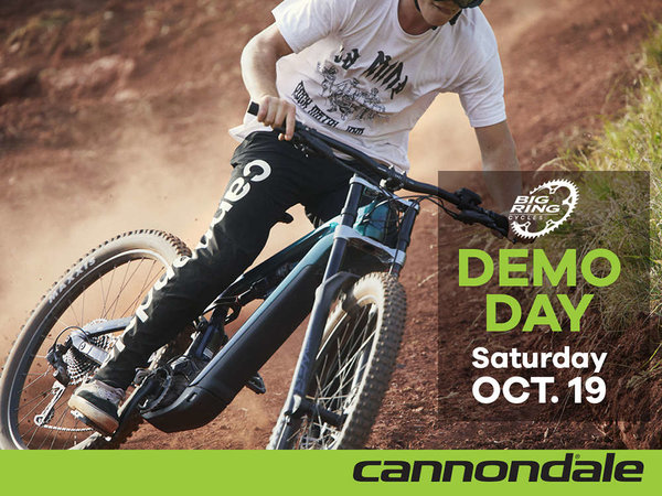 Cannondale Demo Day: Saturday, October 19