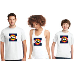 Big Ring Cycles Big Ring Cycles Colorado T-shirt and Tank