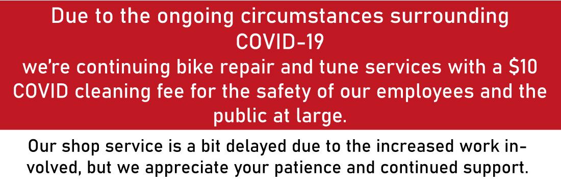 Bike Service protocol announcement