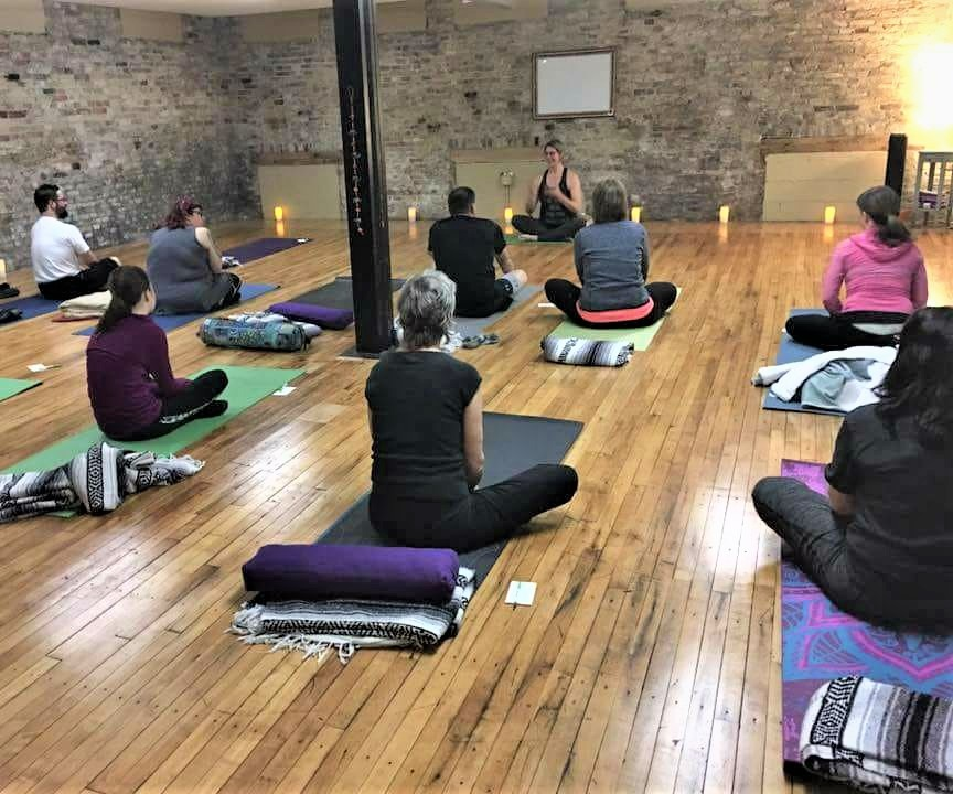 Yoga at Zuzu Pedals