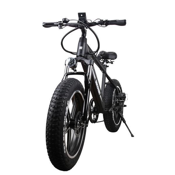 "Nakto e-Bikes NAKTO Fat Tire Electric Bicycle 20"" Discovery"