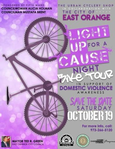 The Urban Cyclery Shop Light Up For A Cause Night Bike Tour