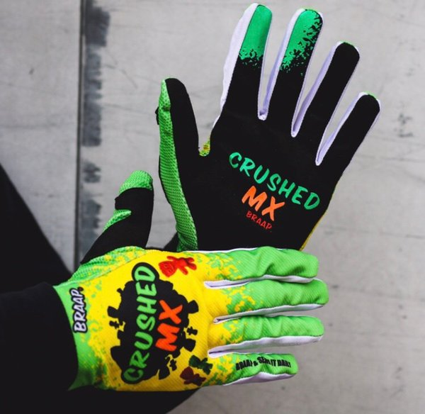 Crushed MX Sour Moto Crushed MX Gloves
