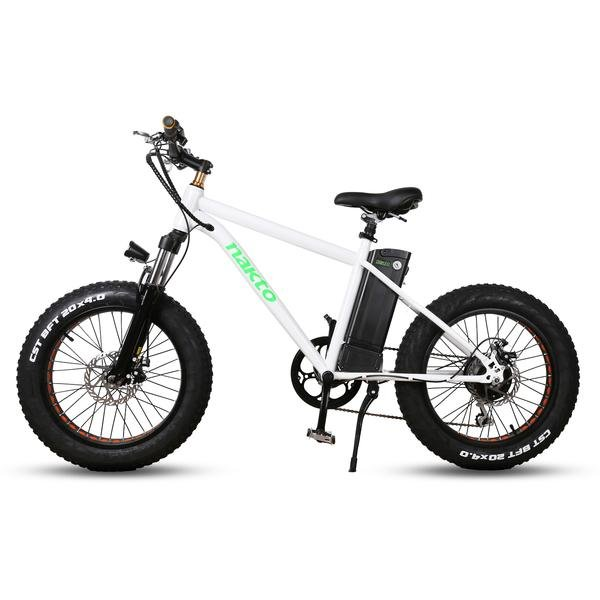 "Nakto e-Bikes NAKTO Fat Tire Electric Bicycle 20"" MINI CRUISER"