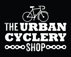 The Urban Cyclery Shop logo - link to home page