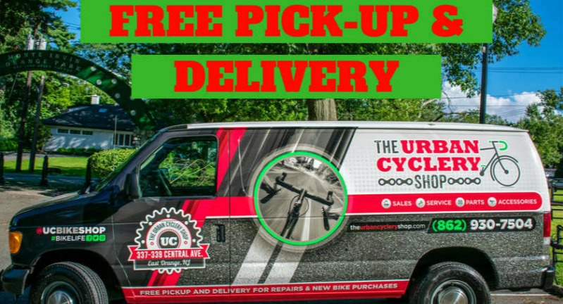 Mobile Bike Shop Pick-Up & Delivery Service - East Orange