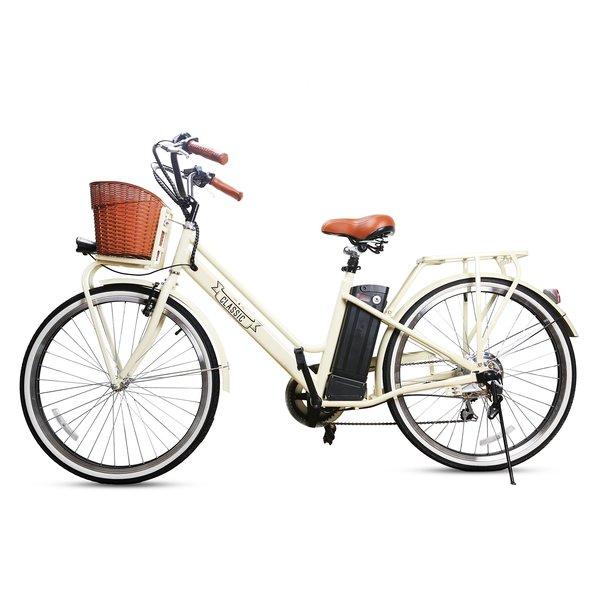 Nakto E-Bikes Classic 26 Urban Step-Through E-Bike